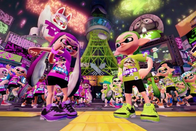 Splatoon 2's First Splatfest Has Begun
